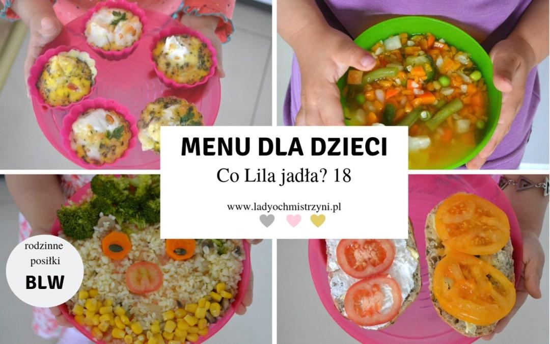Przepisy BLW 18 – co Lila jadła?