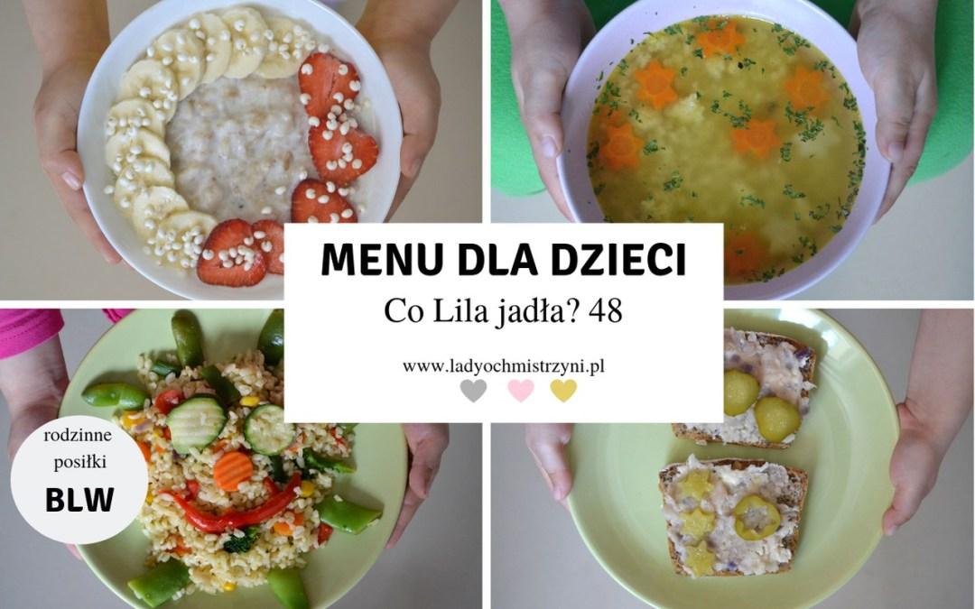 kulinarne inspiracje dla dzieci BLW