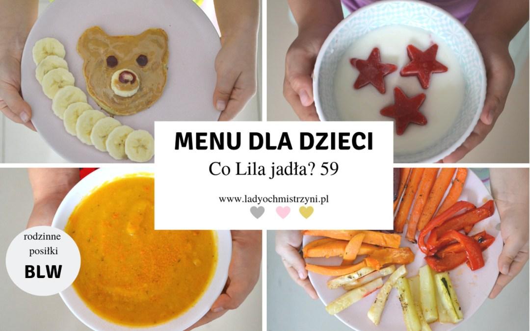 Menu dla dziecka BLW – Co Lila jadła? 59