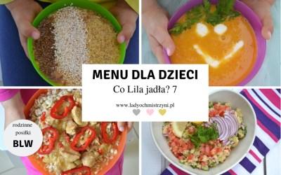 Przepisy BLW – co Lila jadła? 7