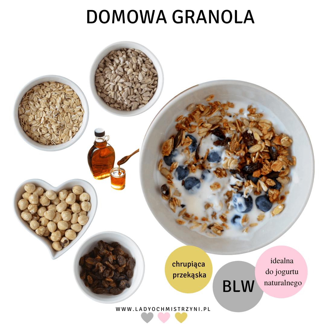 domowa granola dla dzieci