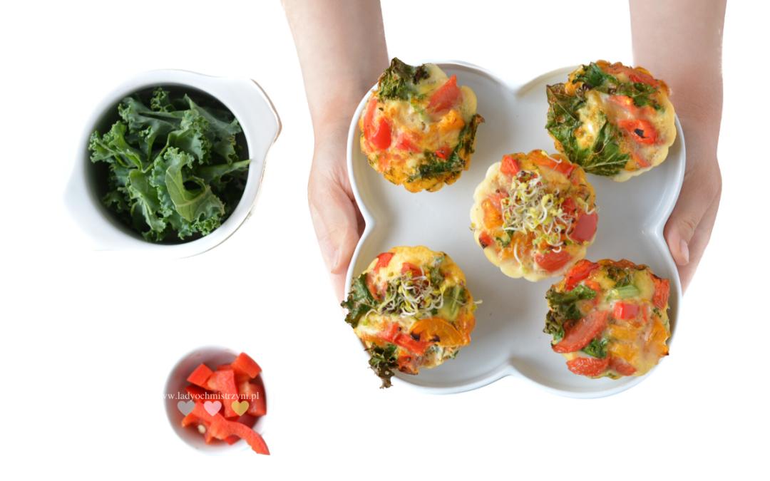 Muffinki jajeczne z warzywami BLW
