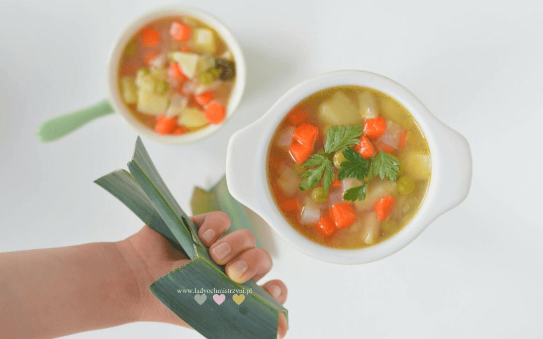 Zupa z groszkiem dla dzieci BLW