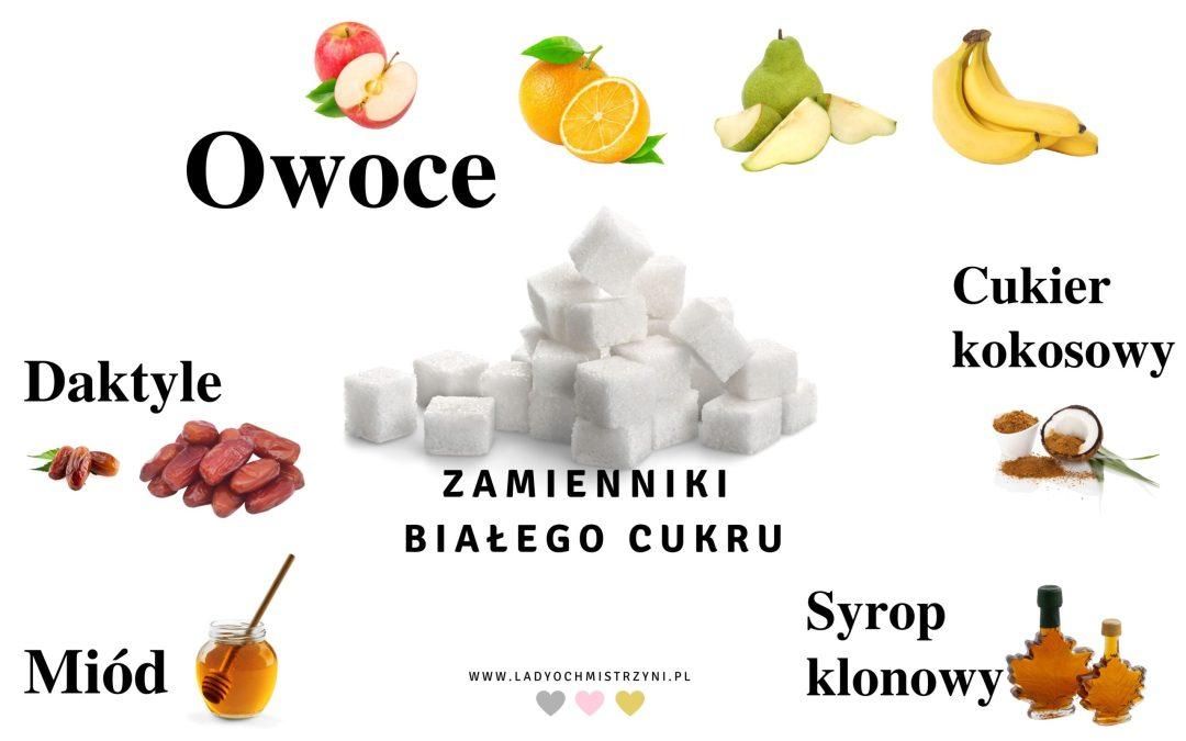 czym zastąpić biały cukier