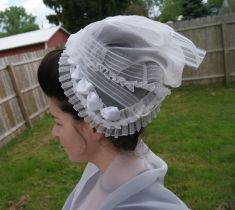 Side View: The wind caught my back lappets- made me feel like the flying nun!