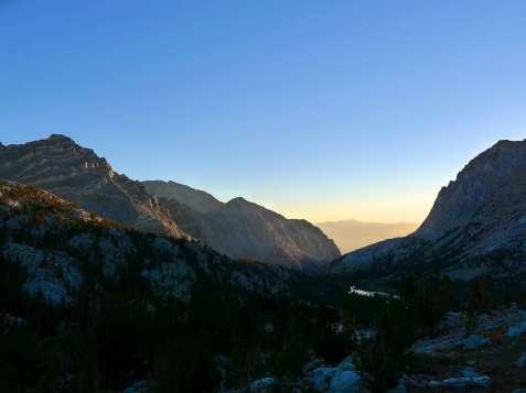 Sunset - Pine Creek Canyon