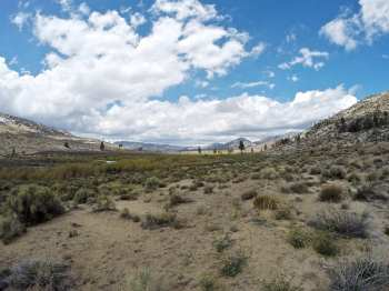 Leaving Rockhouse Basin