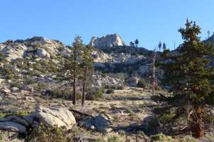 View of Rockhouse Peak from Saddle