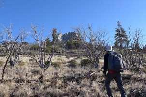 Climbing Rockhouse Peak