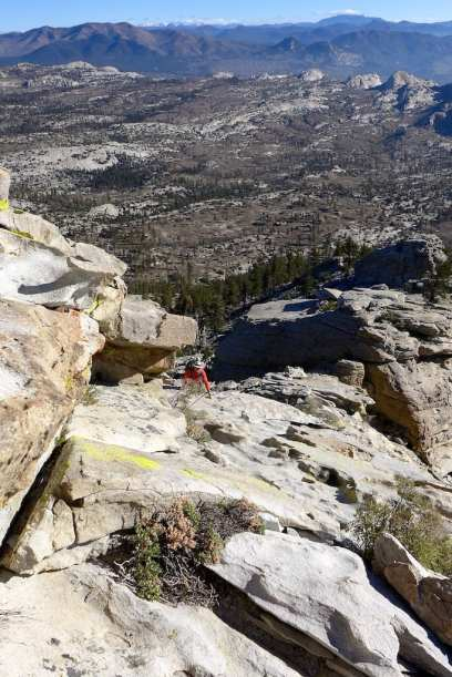 Rockhouse Peak Fun Class 3 Climb