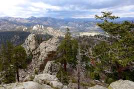 Views west from Taylor