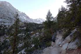 Late evening hike to Outpost Camp