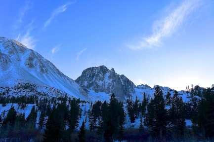 Sunset - North Fork Big PIne Creek Trail