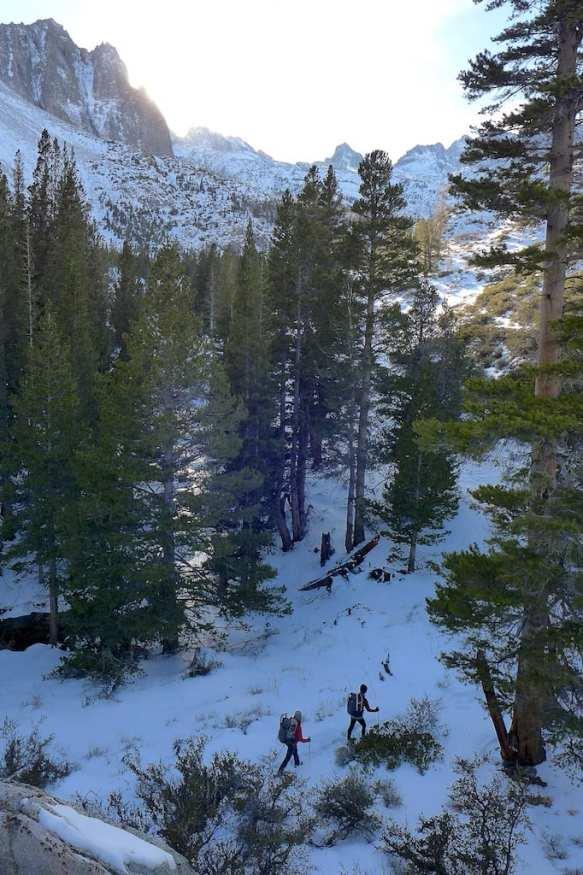 Heading up - North Fork Big PIne Creek Trail