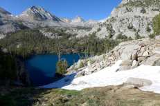 Chute down to Marion Lake