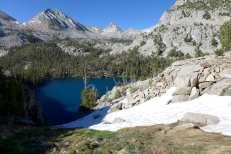 Chute down to Marion Lake