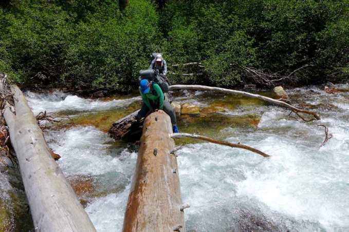 Wired and Why Not crossing their style over rushing Mono Creek