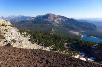 View of Lakes Basin