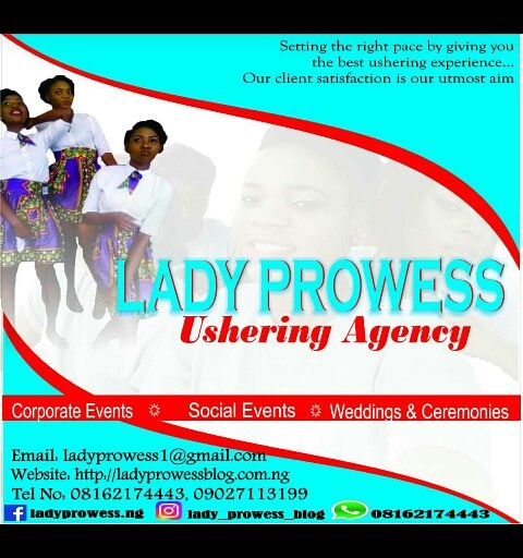 Lady Prowess Ushering Agency 3