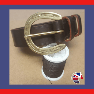 Brass Horseshoe Belt Woocommerce Image