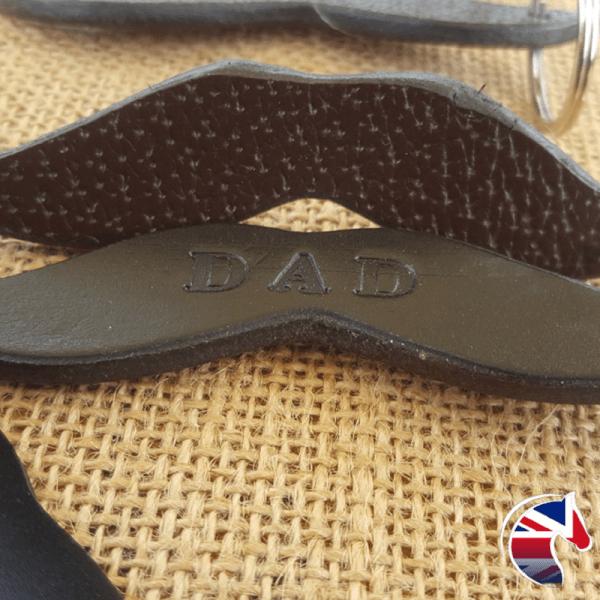 Black Leather Moustache Woocommerce Image