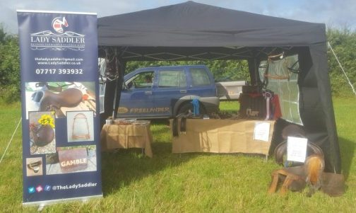 Stand at Inkberrow Horse show