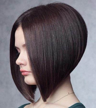 Стрижка боб каре на короткие волосы фото, вид спереди и ...