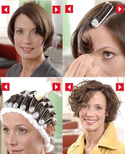 Как укладывать короткие волосы в домашних условиях феном