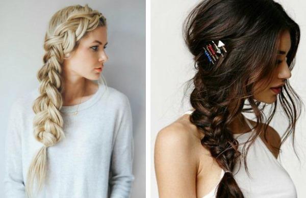 Собранные прически на средние волосы. Фото на каждый день ...