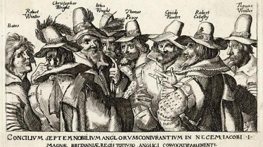 Les membres du Gunpowder plot