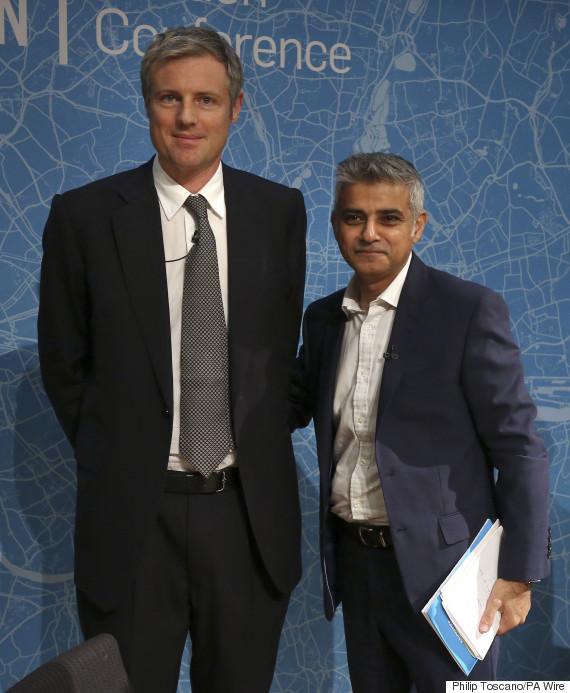 Goldsmith (le milliardaire) et Khan, le petit (ou alors, c'est l'autre qui est grand)