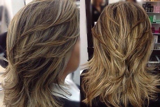 Каскад на длинные волосы: стрижки с фото | LS