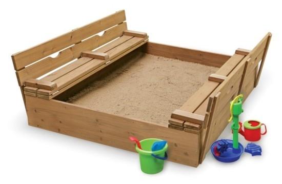 Оригинальные песочницы для детей на дачу своими руками | LS