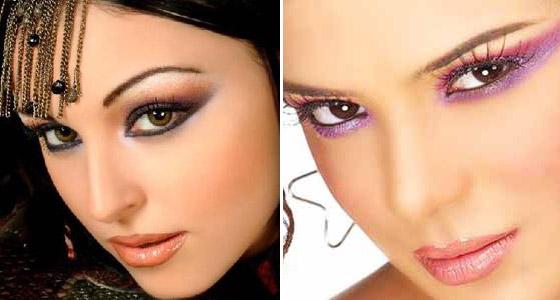 Арабский макияж создаем образ