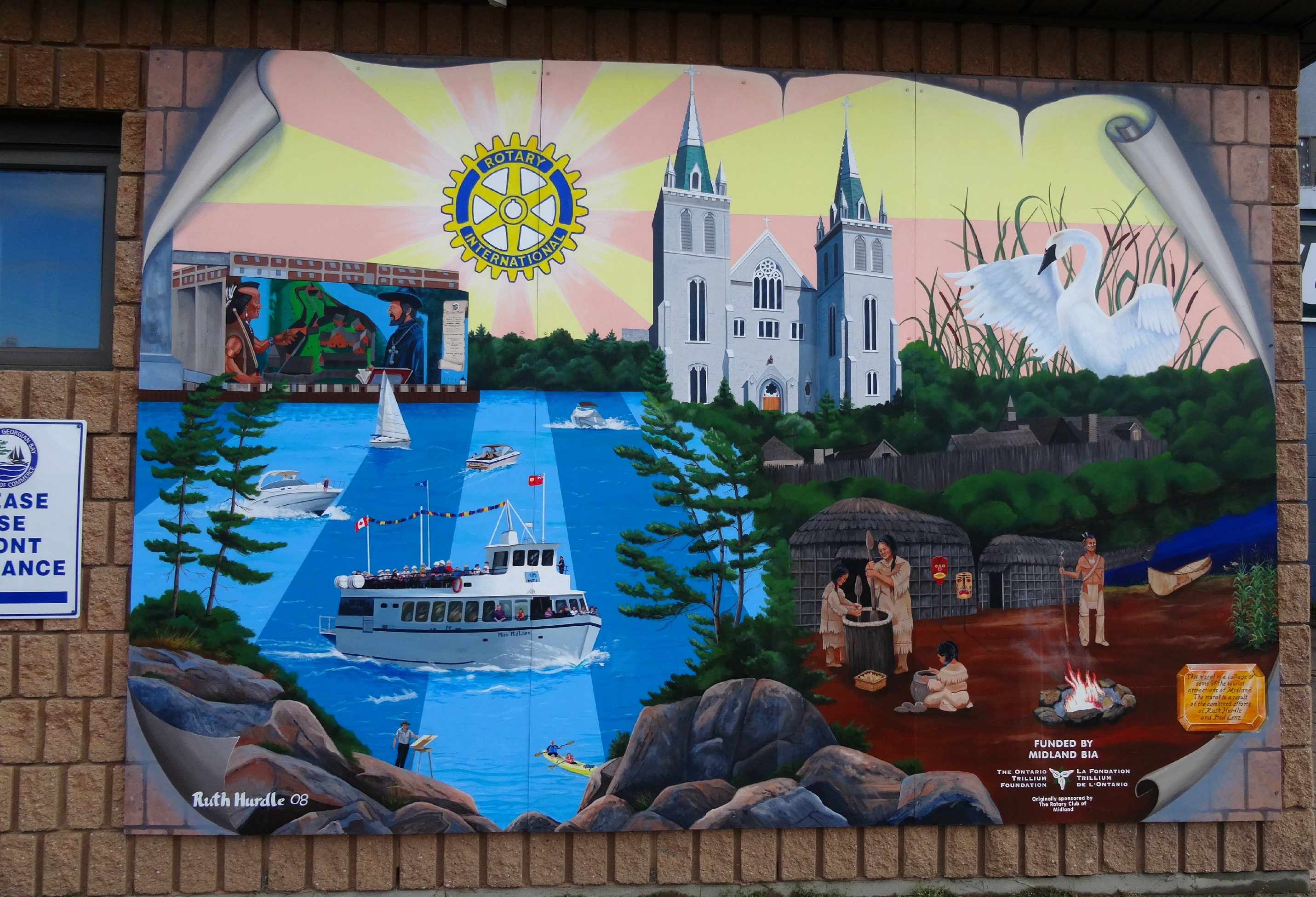 Rotary Mural
