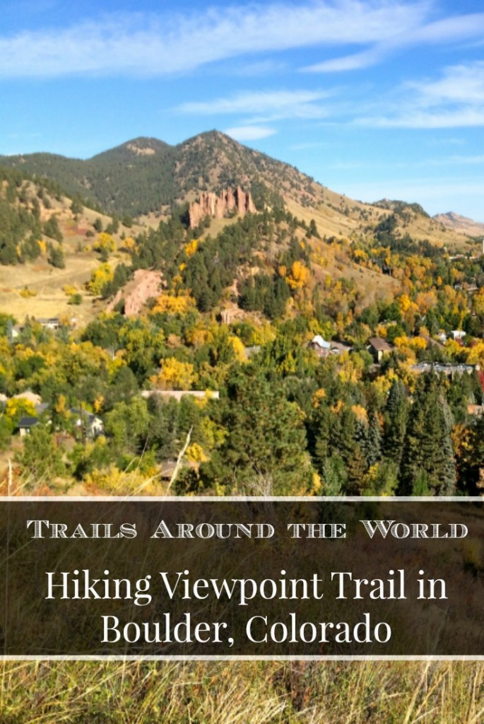 Hiking Viewpoint Trail in Boulder, Colorado