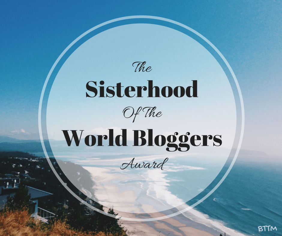 The Sisiterhood of the World Bloggers Award