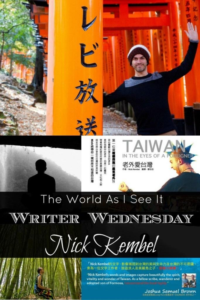 Writer Wednesday - Meet Nick Kembel