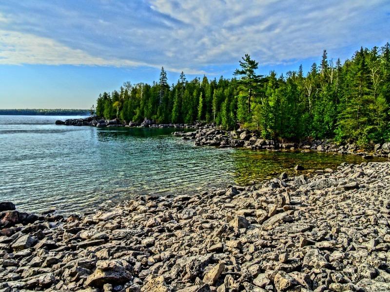 Bruce Peninsula lookout