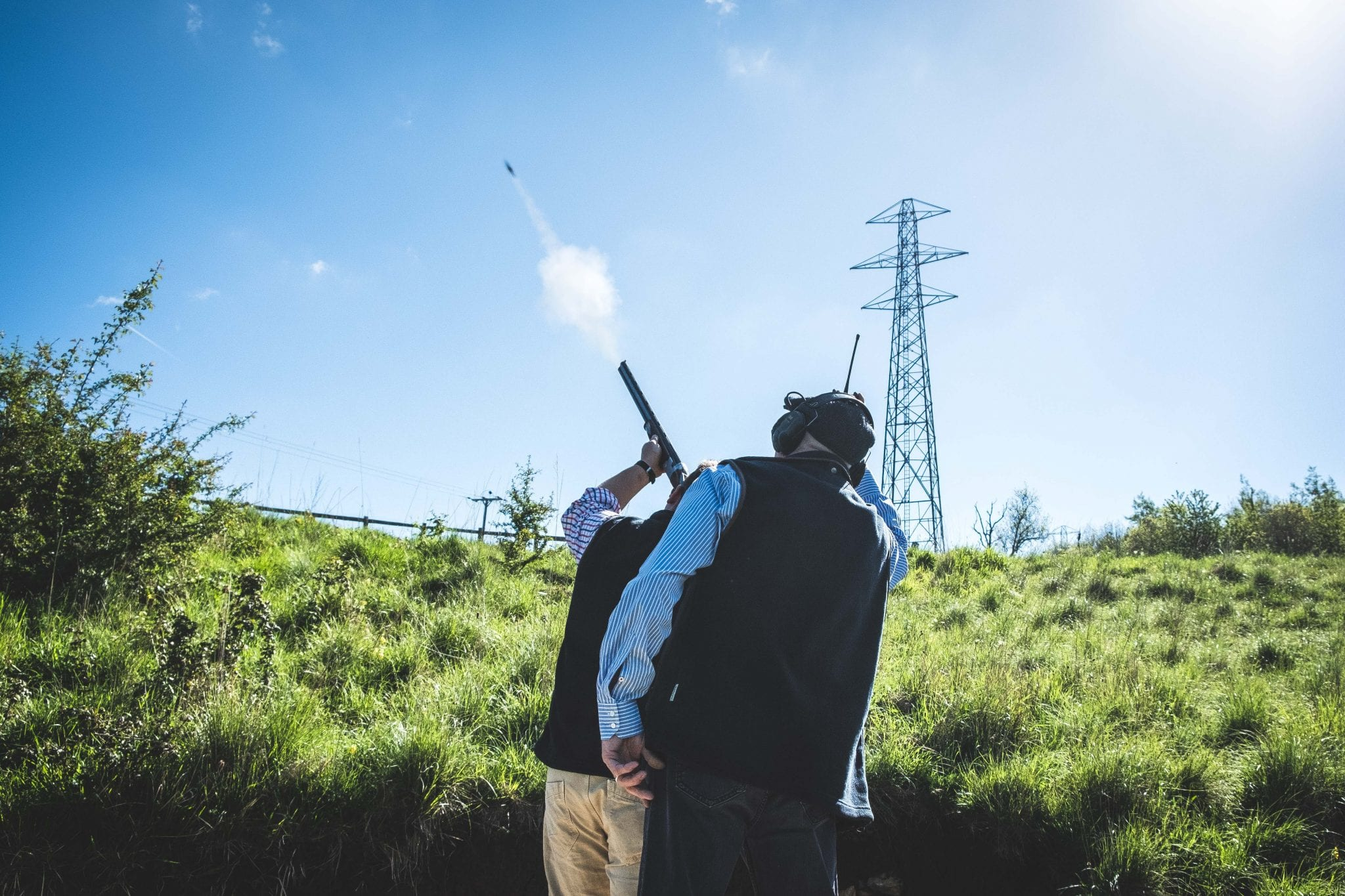 High pheasant shooting at the Lady's Wood Extreme Tower