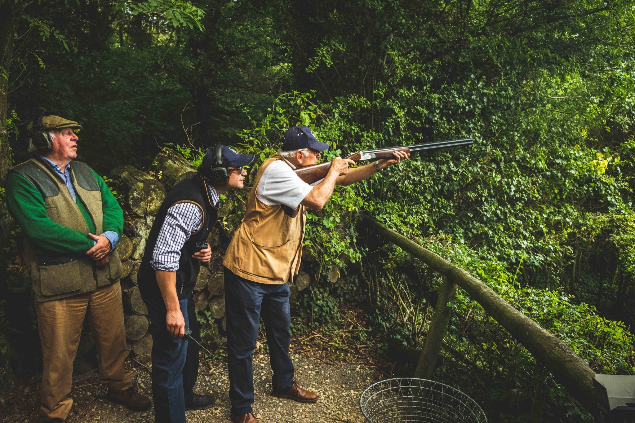 Corporate event at Lady's Wood Shooting School