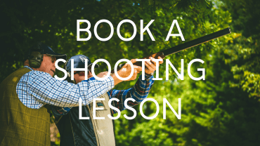 Clay pigeon shooting - book a lesson