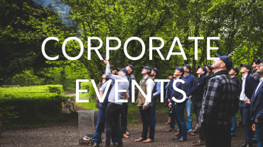 Clay pigeon shooting corporate events