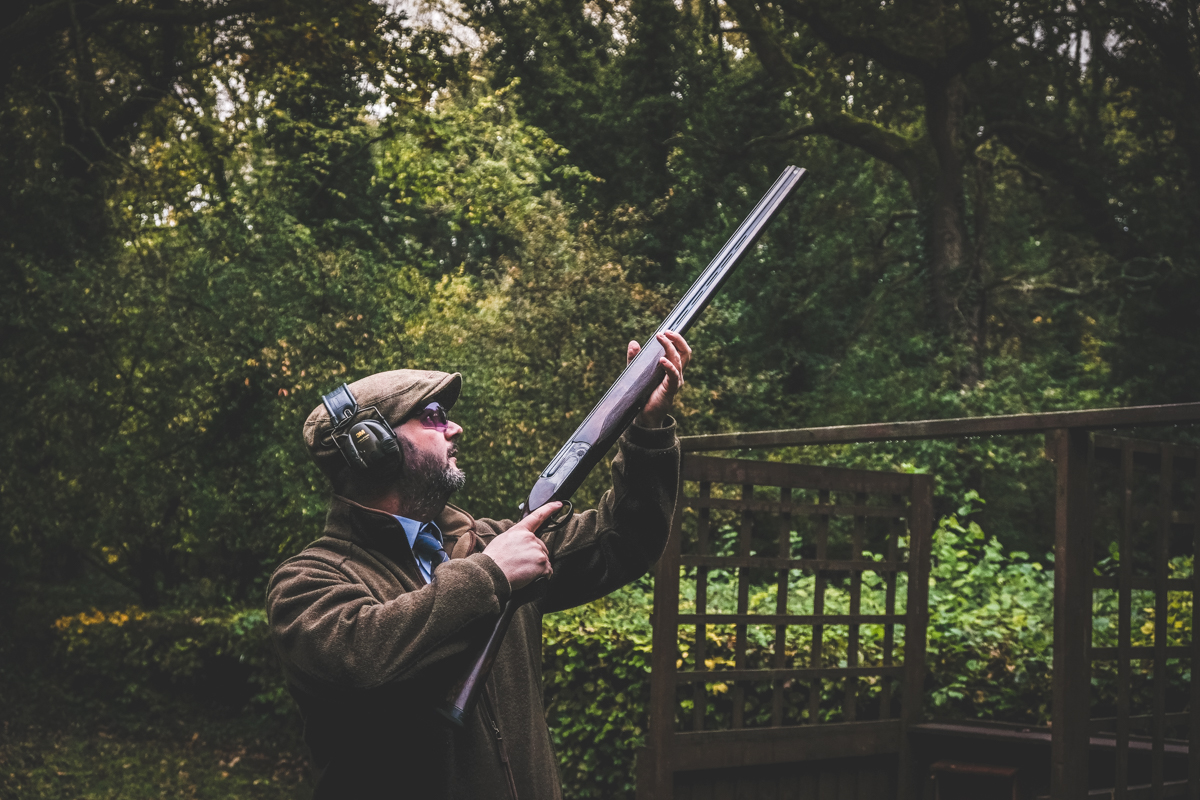 Shooting instructor Chris Hanks shows us how to improve your game shooting technique at Lady's Wood Shooting School