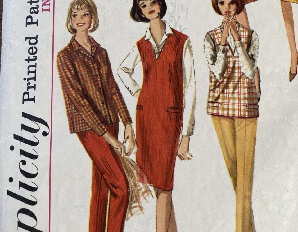 Vintage1964 SimplicityJumperPattern