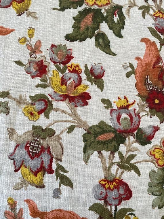 """1960s Jofa """"Tudor"""" Liberty of London Fabric"""