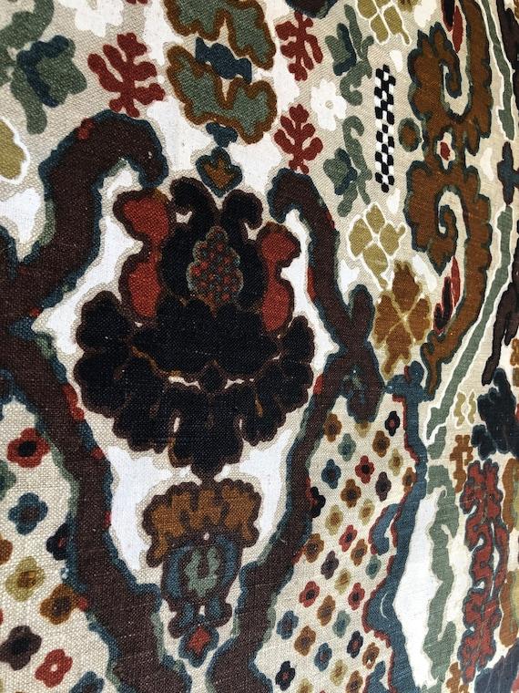 1969 Scalamandré Siracusa Fabric