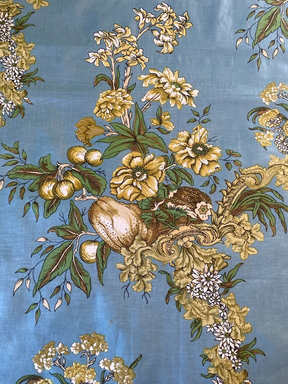 Fruit and Flower Fabric