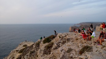 Waiting for the sunset in Southwesternmost poinf of Europe