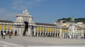 The Praça do Comércio Square